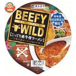 寿がきや 香味徳 HAWAII BEEFY WILD(ハワイ ビーフィー ワイルド) 113g×12個入