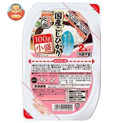 テーブルマーク たきたてご飯 国産こしひかり(分割) 小盛2食 (100g×2個)×24(12×2)個入