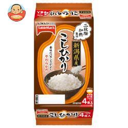 テーブルマーク たきたてご飯 新潟県産こしひかり (分割) 4食 (150g×2食×2個)×8袋入