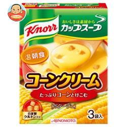 味の素 クノール カップスープ コーンクリーム (17.6g×3袋)×10箱入