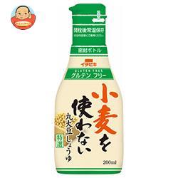 イチビキ 卓上しょうゆ 小麦を使わない 丸大豆しょうゆ 200mlペットボトル×10本入
