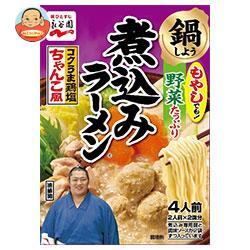 永谷園 煮込みラーメン コクうま鶏塩ちゃんこ風 294g×6箱入