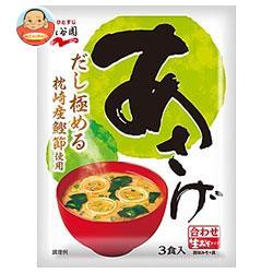 永谷園 生みそタイプみそ汁あさげ 54.3g(3食)×10袋入