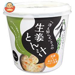 永谷園 「冷え知らず」さんの生姜カップとん汁 76g×6個入