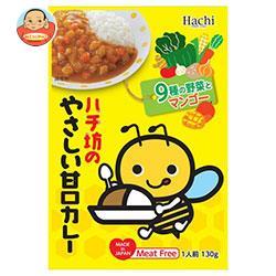 ハチ食品 ハチ坊のやさしい甘口カレー 130g×24個入