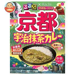 ハチ食品 るるぶ×Hachiコラボシリーズ 京都宇治抹茶カレー中辛 200g×20(5×4)個入