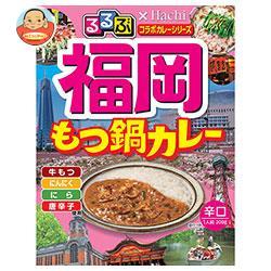 ハチ食品 るるぶ×Hachiコラボシリーズ 福岡もつ鍋カレー辛口 200g×20(5×4)個入