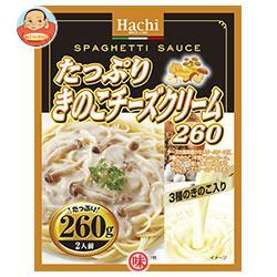 ハチ食品 たっぷりきのこチーズクリーム260 260g×24個入