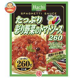 ハチ食品 たっぷり彩り野菜のトマトソース260 260g×24個入