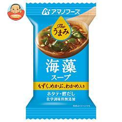 アマノフーズ フリーズドライ Theうまみ 海藻スープ 10食×6箱入