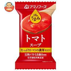 アマノフーズ フリーズドライ Theうまみ トマトスープ 10食×6箱入