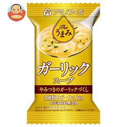 アマノフーズ フリーズドライ Theうまみ ガーリックスープ 10食×6箱入