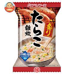 アマノフーズ フリーズドライ 炙りたらこ雑炊 6食×6箱入