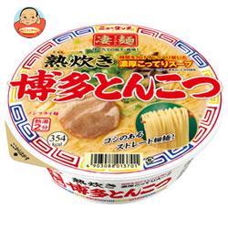 ヤマダイ ニュータッチ 凄麺 熟炊き博多とんこつ 104g×12個入