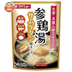ダイショー 参鶏湯(サムゲタン)用スープ 400g×10袋入