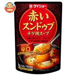 ダイショー 赤いスンドゥブチゲ用スープ 辛口 300g×20(10×2)袋入