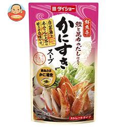 ダイショー 鮮魚亭 かにすきスープ 750g×10袋入