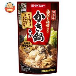 ダイショー 鮮魚亭 かき鍋スープ 750g×10袋入