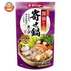 ダイショー 鮮魚亭 寄せ鍋スープ 醤油仕立て 750g×10袋入