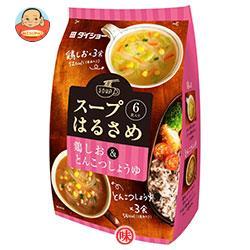 ダイショー スープはるさめ 鶏しお&とんこつしょうゆ 95.7g(6食入り)×10袋入