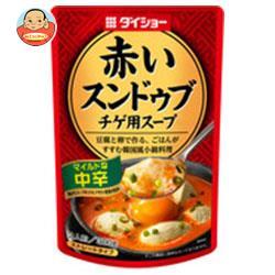 ダイショー 赤いスンドゥブ チゲ用スープ 中辛 300g×20袋入