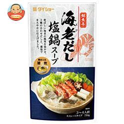 ダイショー 鮮魚亭 海老だし塩鍋スープ 750g×10袋入