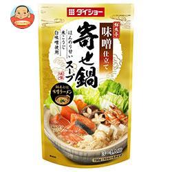 ダイショー 鮮魚亭 寄せ鍋スープ 味噌仕立て 750g×10袋入