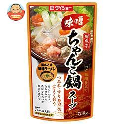 ダイショー 鮮魚亭 味噌ちゃんこ鍋スープ 750g×10袋入