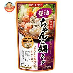 ダイショー 鮮魚亭 醤油ちゃんこ鍋スープ 750g×10袋入