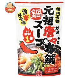 田靡製麺 元祖唐々本舗鍋の素 辛さ1番 750g×10袋入