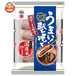 越後製菓 うまい!堅焼き 濃厚うまみ醤油味 96g×12袋入