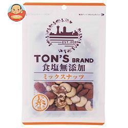 東洋ナッツ食品 トン 食塩無添加 ミックスナッツ 85g×10袋入