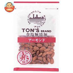 東洋ナッツ食品 トン 食塩無添加 アーモンド 大 200g×10袋入