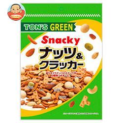 東洋ナッツ食品 トン グリーン ナッツ&クラッカー 190g×10袋入