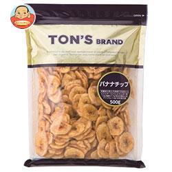 東洋ナッツ食品 トン バナナチップ 500g×10袋入