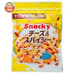 東洋ナッツ食品 トン イエロー スナッキー チーズ&スパイシー ミックスナッツ 175g×10袋入
