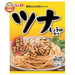 エスビー食品 S&B まぜるだけのスパゲッティソース ツナしょうゆ風味 81.4g×10袋入