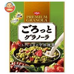 日清シスコ ごろっとグラノーラ いちごと小豆の宇治抹茶 200g×8袋入