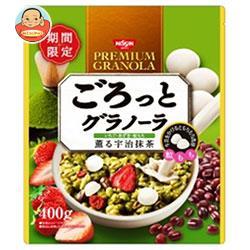 日清シスコ ごろっとグラノーラ いちごと小豆の宇治抹茶 500g×6袋入