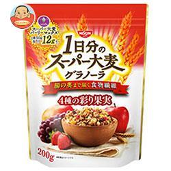 日清シスコ スーパー大麦 グラノーラ 200g×8袋入