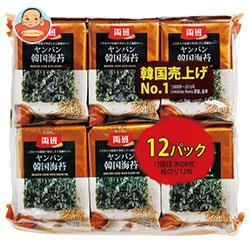 白子のり 両班韓国海苔 12袋詰(8切8枚)板のり12枚×10個入