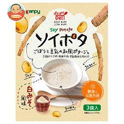カンピー よくばりDeli ソイポタ ごぼうと豆乳の和風ポタージュ (15g×3袋)×6箱入