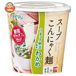 カンピー スープこんにゃく麺 わかめ 68.3g×6個入