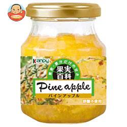 カンピー 果実百科パインアップル 190g瓶×12個入