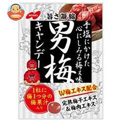 ノーベル製菓 男梅 80g×6袋入