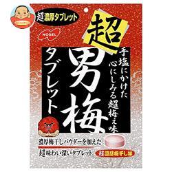 ノーベル製菓 超男梅タブレット 30g×6袋入