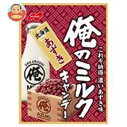 ノーベル製菓 俺のミルク 北海道あずき 80g×6袋入