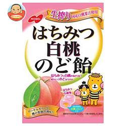 ノーベル製菓 はちみつ白桃のど飴 110g×6袋入