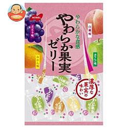 ノーベル製菓 やわらか果実ゼリー 230g×6袋入