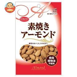 共立食品 素焼き アーモンド チャック付 80g×10袋入